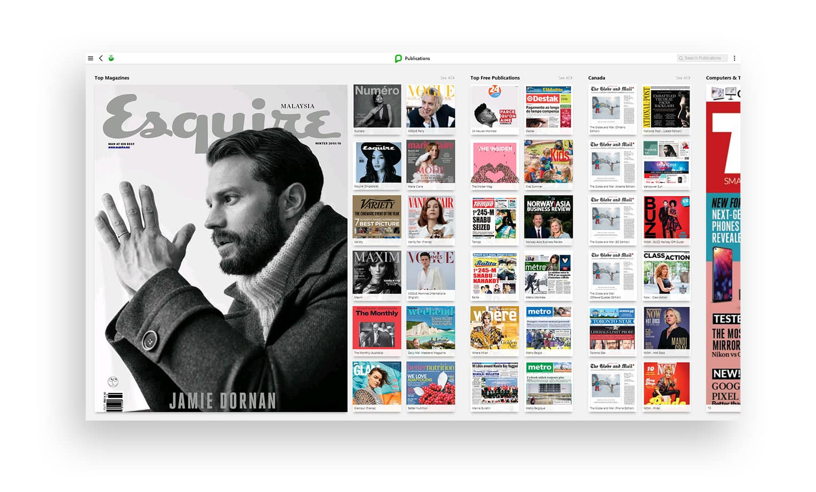 A new kind of newsstand