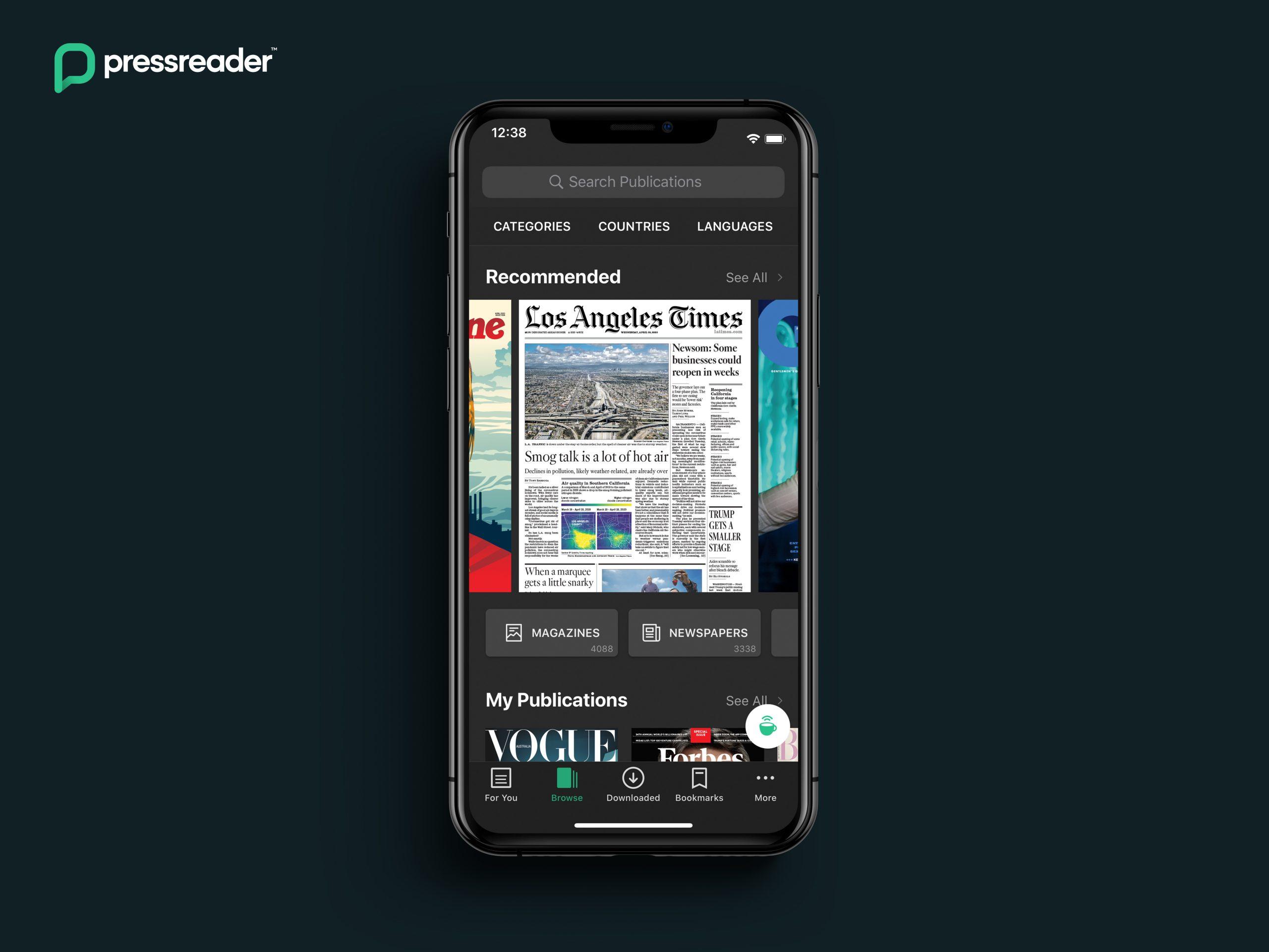 PressReader app