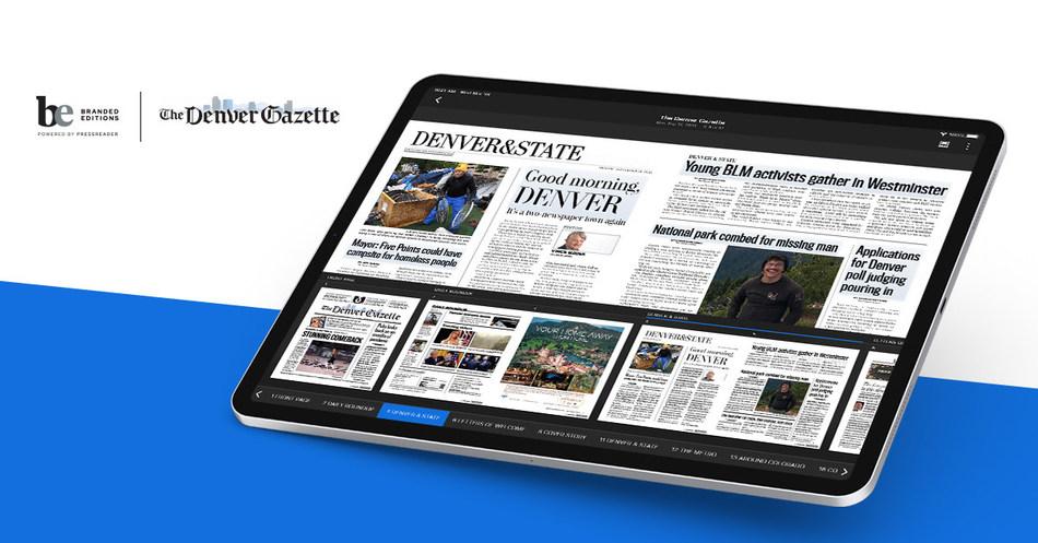Denver Gazette partners with PressReader